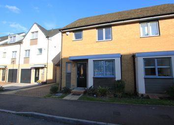 Thumbnail 3 bed semi-detached house to rent in Birdwing Walk, Stevenage