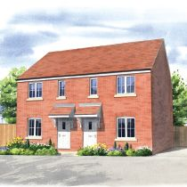Thumbnail 2 bed semi-detached house for sale in Moor Lane, Branston
