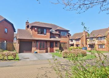 Thumbnail 4 bed detached house for sale in St. Christopher Avenue, Fareham