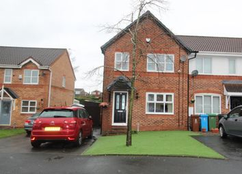 Thumbnail 3 bed town house for sale in Canisp Close, Chadderton, Oldham