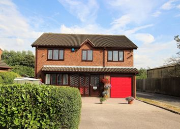 Thumbnail 4 bed detached house for sale in The Holdings, Oxford Street, Church Gresley, Swadlincote