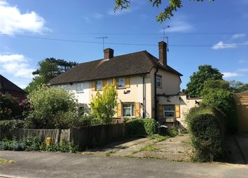 Thumbnail 3 bed semi-detached house for sale in Pollards Oak Crescent, Hurst Green, Oxted, Surrey