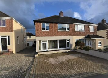 Thumbnail 3 bed semi-detached house for sale in Longacre, Plymouth, Devon