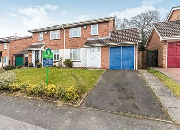 Thumbnail 3 bed semi-detached house to rent in Newman Way, Rednal, Birmingham