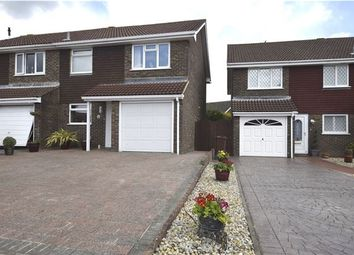 Thumbnail 3 bed end terrace house for sale in Glebe Close, Bexhill-On-Sea, East Sussex