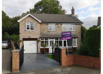 Thumbnail 4 bed detached house for sale in Dorfield Close, Bredbury