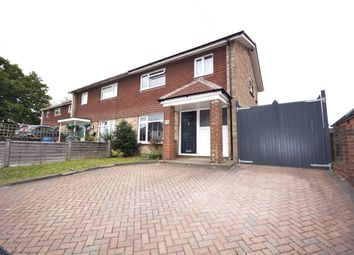 Thumbnail 2 bed semi-detached house for sale in York Road, Broadstone
