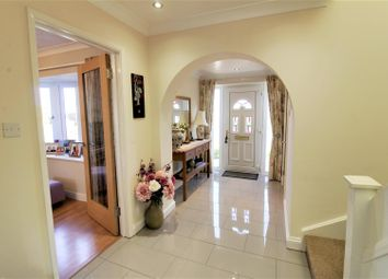 Thumbnail 4 bed detached house for sale in Welland Way, Deeping St. James, Peterborough