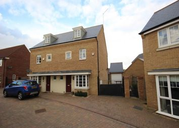 Thumbnail 1 bed town house to rent in Waterton Way, Hampton Vale, Peterborough