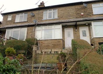Thumbnail 2 bed terraced house for sale in Woodroyd Gardens, Luddendenfoot, Halifax