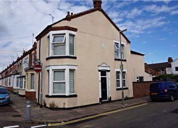 Thumbnail 3 bed town house to rent in Euston Road, Northampton