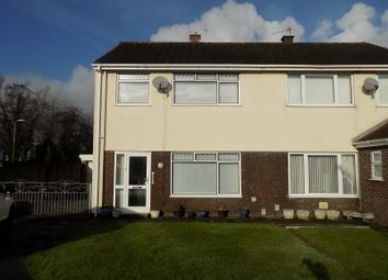 Thumbnail 3 bed semi-detached house for sale in Heol Y Nant, Baglan, Port Talbot, Neath Port Talbot.
