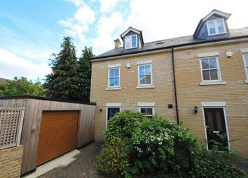 Thumbnail 4 bed end terrace house for sale in Cavendish Court, Cambridge