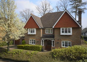 Thumbnail 4 bed detached house to rent in Redwing Gardens, West Byfleet