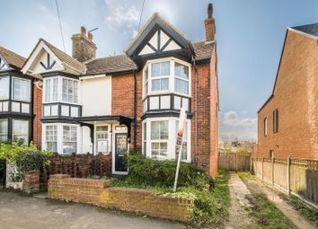 Thumbnail 3 bed end terrace house for sale in Teynham Road, Whitstable
