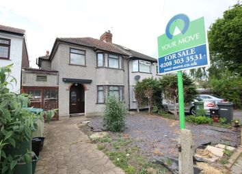 Thumbnail 3 bed semi-detached house for sale in Oakwood Drive, Bexleyheath