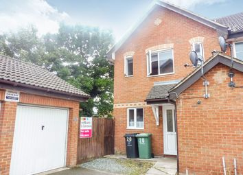 Thumbnail 3 bed end terrace house for sale in Brunswick Close, Toftwood, Dereham