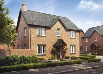 Thumbnail 4 bed detached house for sale in Plot 15 The Cedar, Barley Fields, Uttoxeter