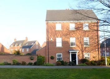 Thumbnail 4 bedroom link-detached house to rent in Barnards Way, Kibworth Harcourt, Leicester