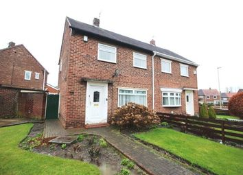 Thumbnail 2 bed semi-detached house for sale in Dukes Avenue, Hebburn, Tyne And Wear