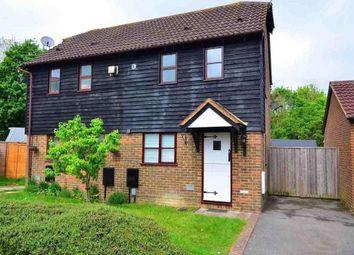 Thumbnail 1 bed semi-detached house to rent in Grey Willow Gardens, Singleton, Ashford