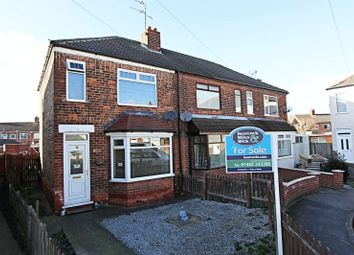 Thumbnail 3 bedroom terraced house for sale in Alston Avenue, Hull