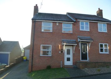 Thumbnail 3 bed semi-detached house for sale in Oliver's Close, Hunmanby