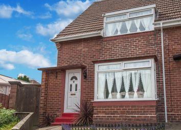 Thumbnail 2 bedroom end terrace house for sale in Craigavon Road, Sunderland