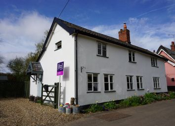 Thumbnail 3 bed cottage for sale in Back Street, Garboldisham, Diss