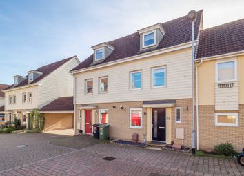 Thumbnail 4 bed town house for sale in Silvo Road, Queens Hill, Norwich
