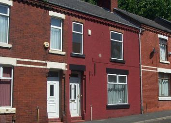 Thumbnail 3 bed town house to rent in Rutland Street, Gorton, Manchester