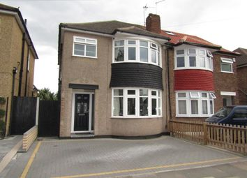 Thumbnail 3 bed semi-detached house for sale in Penrith Road, Hainault