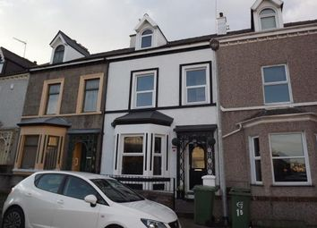 Thumbnail 4 bed terraced house for sale in Gelert Street, Caernarfon, Gwynedd