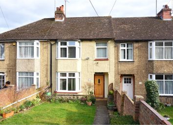 Thumbnail 3 bed terraced house for sale in Rochester Road, Rochester