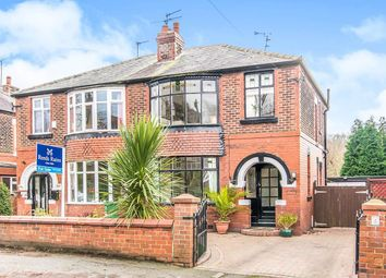 Thumbnail 3 bed semi-detached house for sale in Sheffield Road, Godley, Hyde
