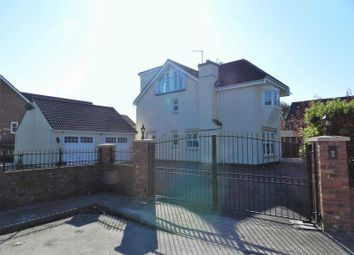 Thumbnail 6 bed detached house for sale in Waterton Lane, Bridgend