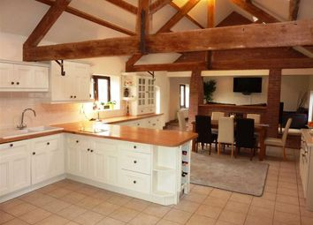 Thumbnail 5 bed barn conversion for sale in Lymes Road, Butterton, Newcastle-Under-Lyme