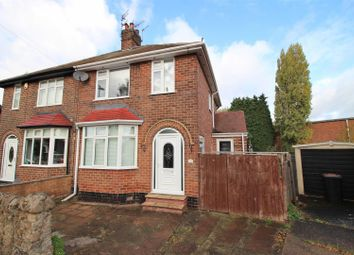Thumbnail 3 bed semi-detached house for sale in Lilac Crescent, Beeston, Nottingham