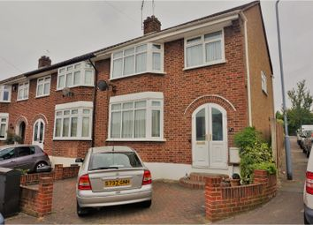 Thumbnail 3 bed end terrace house for sale in Copthorne Avenue, Hainault