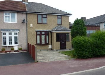 Thumbnail 3 bed semi-detached house to rent in Campsey Road, Dagenham