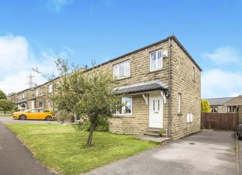 Thumbnail 3 bed semi-detached house for sale in Stonelea, Barkisland, Halifax, West Yorkshire