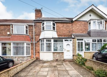 3 bed terraced house for sale in Low Wood Road, Erdington, Birmingham B23