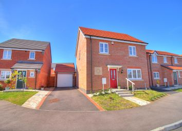 Thumbnail 3 bed detached house for sale in Doctor Wright Close, Markfield