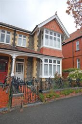 Thumbnail 3 bed semi-detached house for sale in Iorwerth Avenue, Aberystwyth