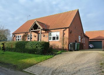 Thumbnail 4 bed detached bungalow for sale in Westby, Grantham