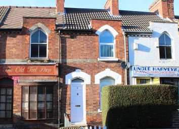 Thumbnail 1 bed terraced house for sale in Highfield Road, Doncaster
