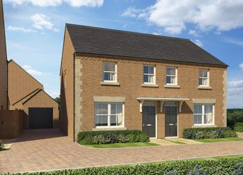 "Thumbnail 3 bed semi-detached house for sale in ""Archford"" at Popes Piece, Burford Road, Witney"