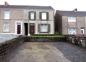 Thumbnail 3 bed end terrace house for sale in Llangyfelach Road, Tirdeunaw, Swansea