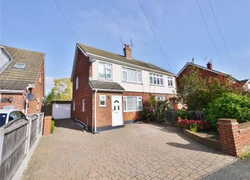 Thumbnail 3 bed semi-detached house for sale in Lime Grove, Doddinghurst, Brentwood, Essex