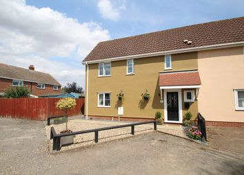 Thumbnail 3 bed semi-detached house for sale in Braybrooke Close, Mendlesham, Stowmarket